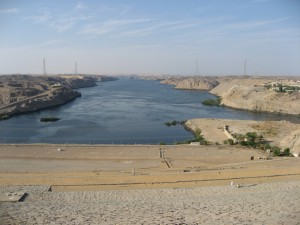 High dam - Nilen