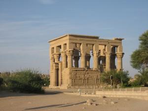 Romersk tempel v. Aswan