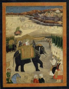 Aurangzeps gigantiske hær. 1/2 million bevæbnede.