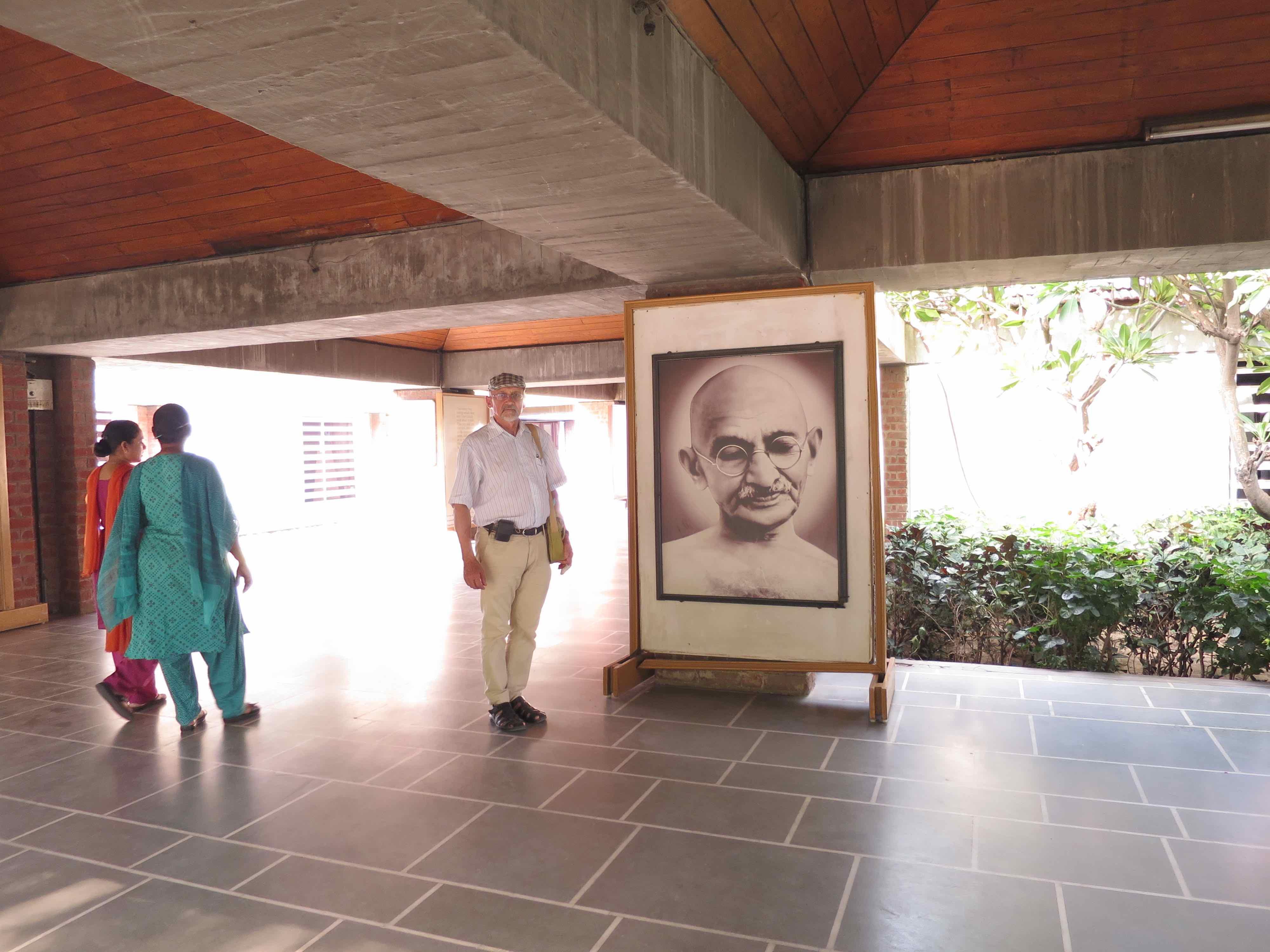 Ghandis Asram i Ahmedabad