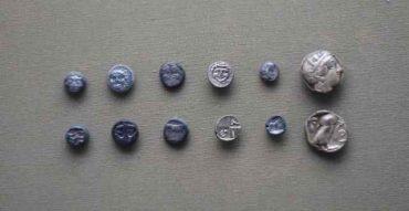 Mønter 4. årh f.v.t